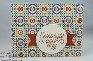 Liz Bailey Stampin' Up! Demonstrator - Designer Tin of Cards - Stitched Shapes Framelits Dies