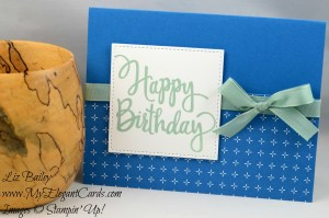 Liz Bailey Stampin' Up! Demonstrator - Stylized Birthday - Party Animal DSP