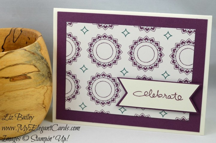 Liz Bailey Stampin' Up! Demonstrator - Eastern Specialty DSP - Endless Birthday Wishes