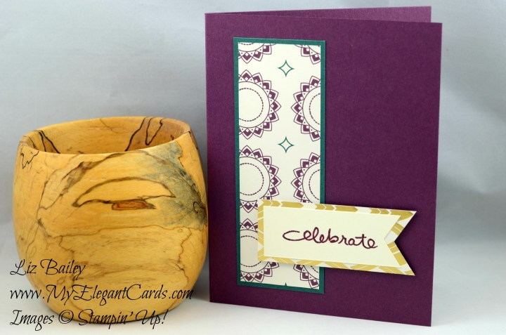 Liz Bailey Stampin' Up! Demonstrator - Eastern Palace DSP - Endless Birthday Wishes