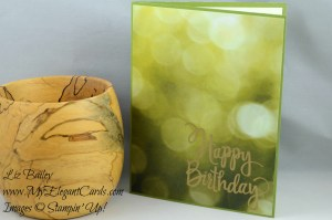 Liz Bailey Stampin' Up! Demonstrator - Stylized Birthday - Serene Scenery DSP