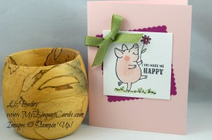 Liz Bailey Stampin' Up! Demonstrator - This Little Piggy