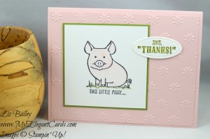 Liz Bailey Stampin' Up! Demonstrator - This Little Piggy - Oh My Stars TIEF