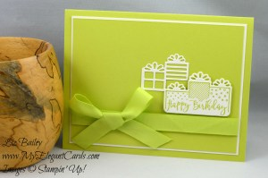 Liz Bailey Stampin' Up! Demonstrator - Celebration Time - Celebration Thinlits Dies