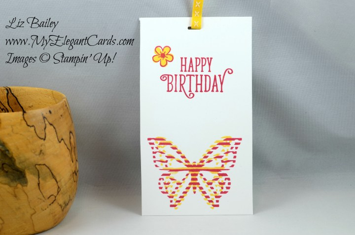 Liz Bailey Stampin' Up! Demonstrator - Move Me Thinlits Dies - Happy Birthday Gorgeous