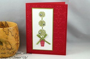 Liz Bailey Stampin' Up! Demonstrator - Vertical Greetings - Holly TIEF