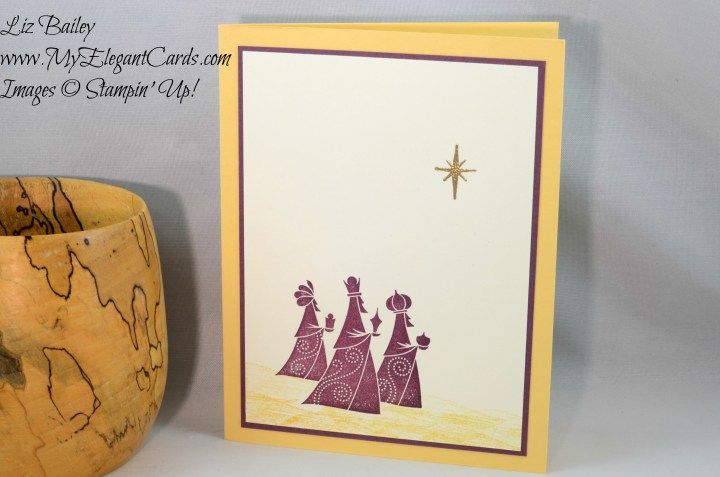 Liz Bailey Stampin' Up! Demonstrator - Wise Men from Afar