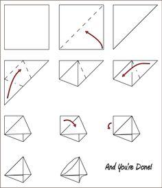 diaper fold