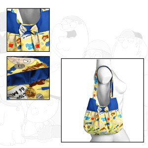 family guy handbag featuring Stewie