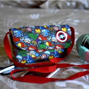 Marvel avengers kawaii bag
