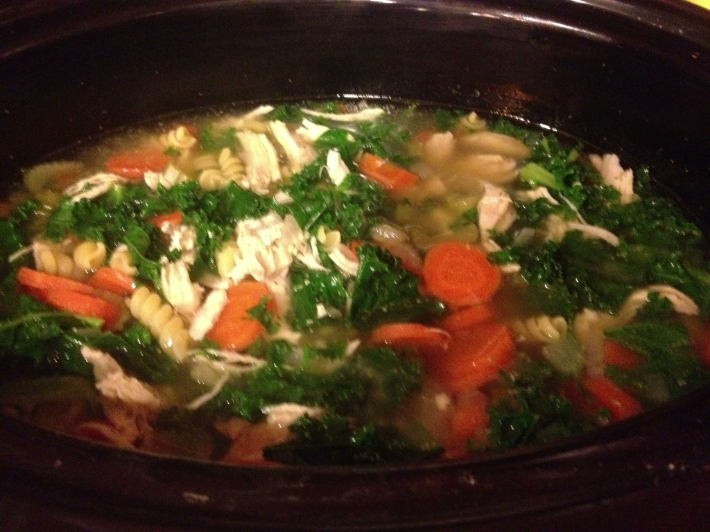 Recipe: Crockpot Chicken Noodle Soup