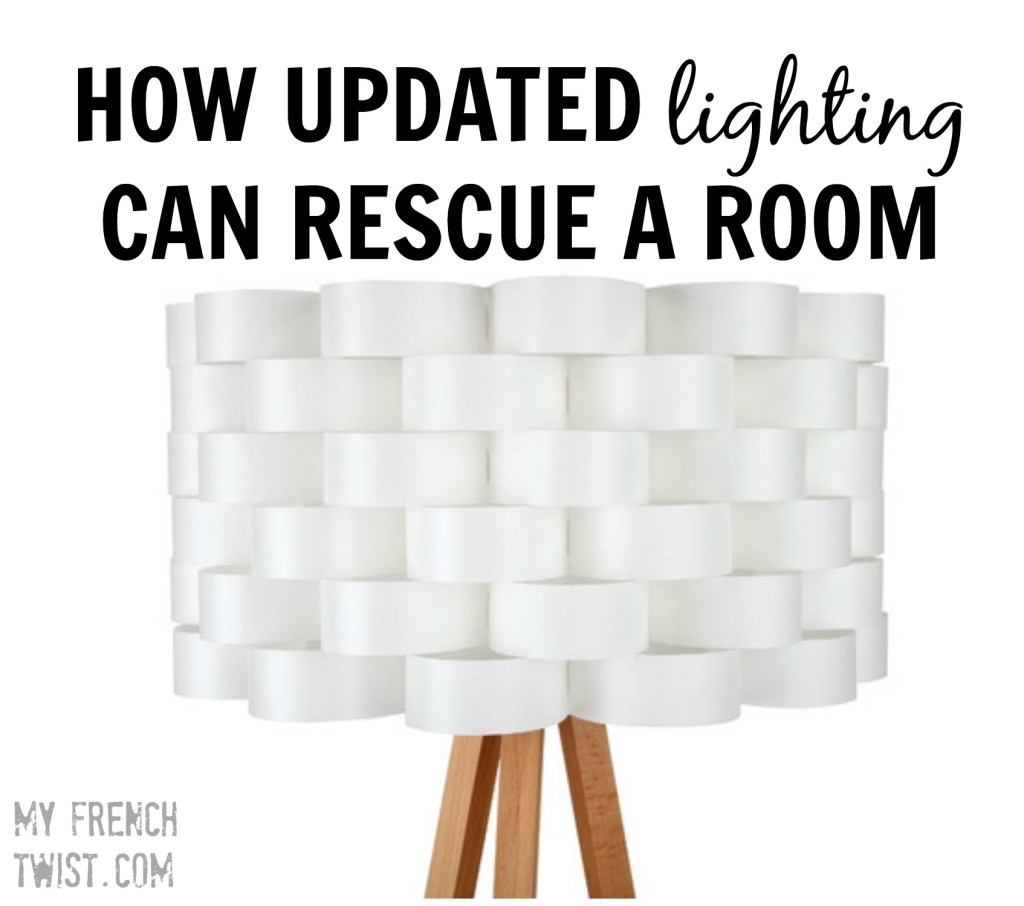 how updated lighting can transform a room