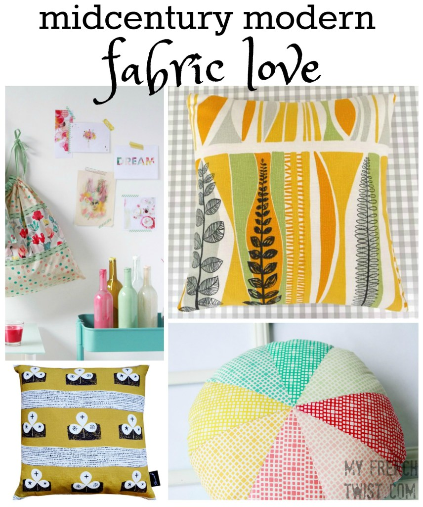 midcentury modern fabric love