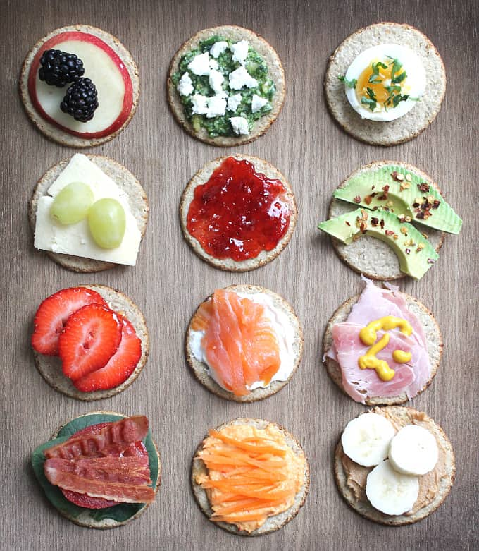 Oatcake toppings