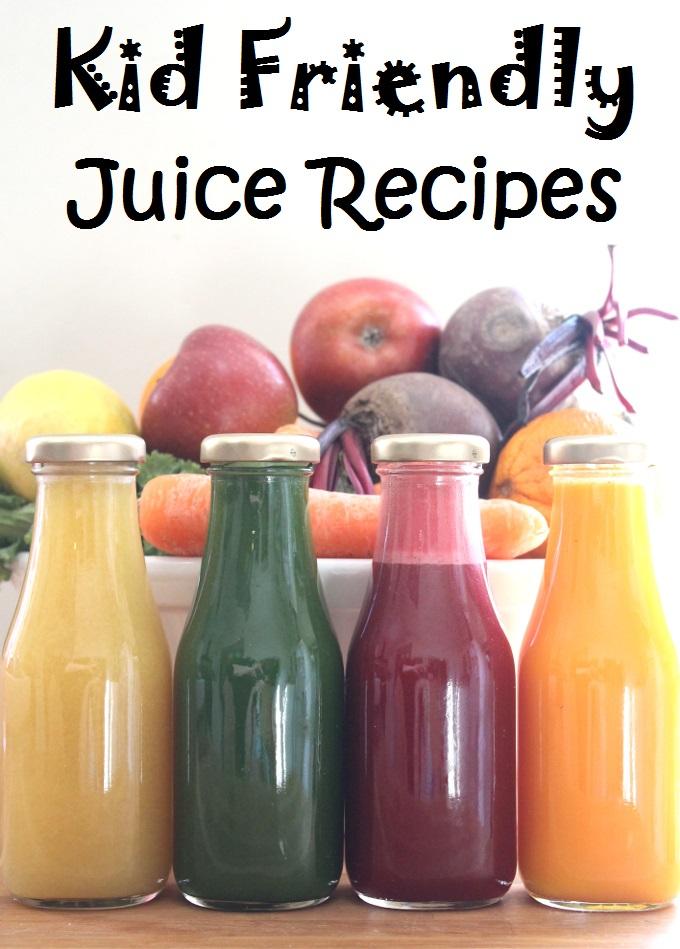Fruit and veg juice children