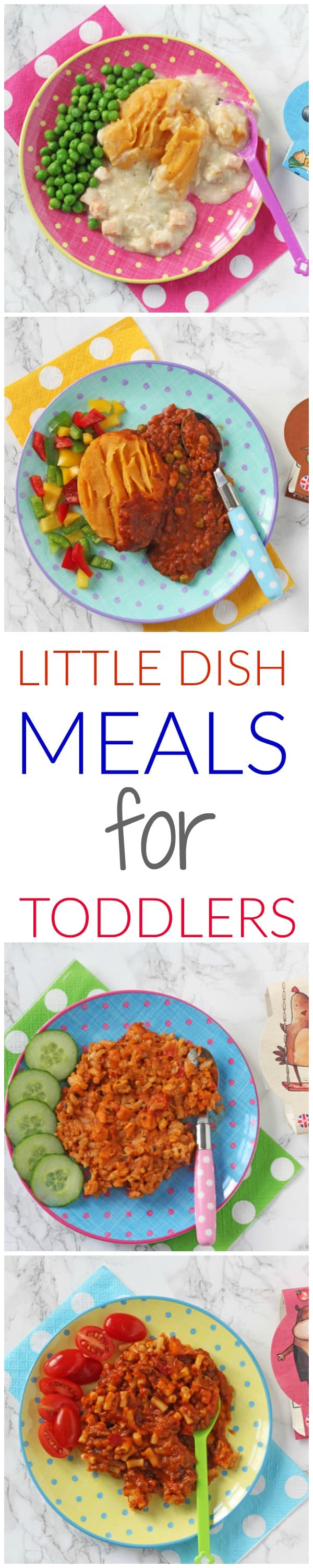 Little Dish pots and pies - delicious and nutritionally balanced meals for toddlers!