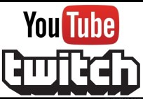 YouTube Twitch logo