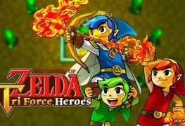 LoZ Tri Force Heroes Banner