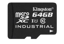 microSD Industrial Temp Card UHS-I 64GB