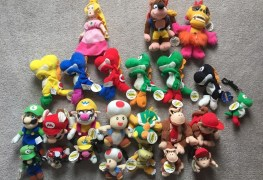 BDA Nintendo Plush All