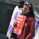 Airport workers fight for $15 an hour