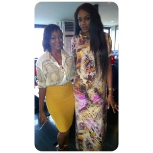 Bellanaija Beauty Editor, Jennifer and PR Maven, Ono Bello. PhotoCredit: Onobello IG