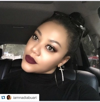 Actress Nadia Buari is all about the Vamp Lips
