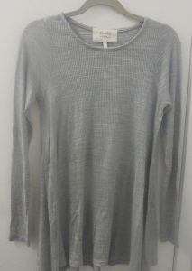 Puella Top in Light Grey