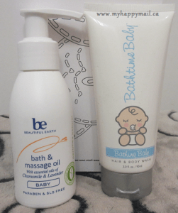 Bathtime Baby - Hair and Body Wash Be- Beautiful Earth Bath and Massage Oil for Baby