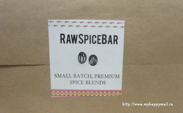 Raw Spice Bar Inaugural Box