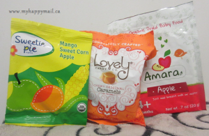 Sweetipie - Mango Sweet Corn Apple Lovely - Organic Caramels Amara - Organic Dried Baby Food in Apple