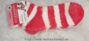 Peppermint Infused Cozy Socks