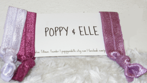 Poppy and Elle Hair Ties
