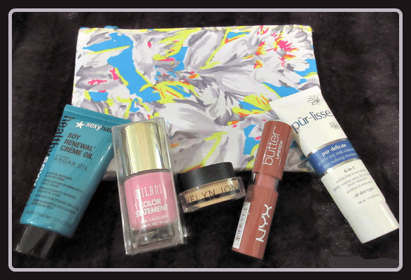 March 2015 Ipsy Floral Fantasy