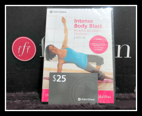 Intense Body Blast 3 DVD Pilates Workout Set