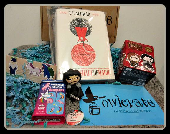 OwlCrate March 2015