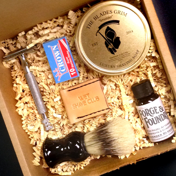 Wet Shave Club First Box