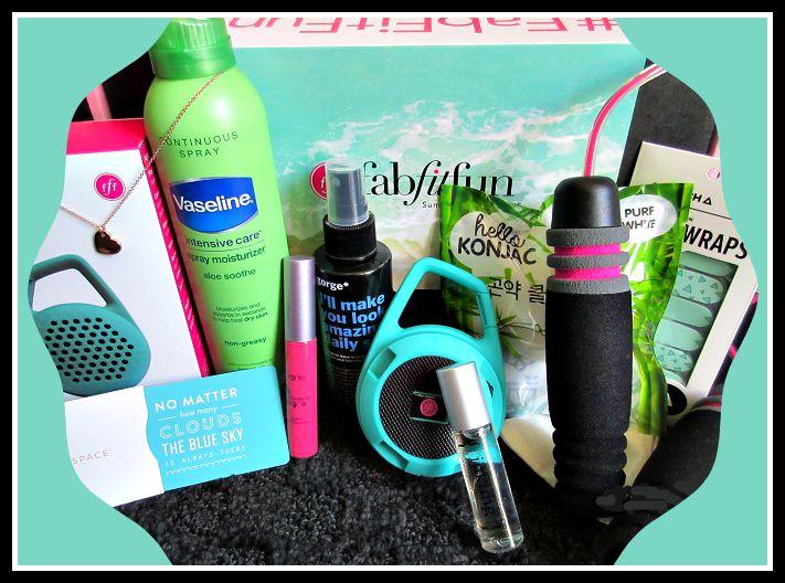 FabFitFun Summer 2015 Subscription Box Review and Promo Code