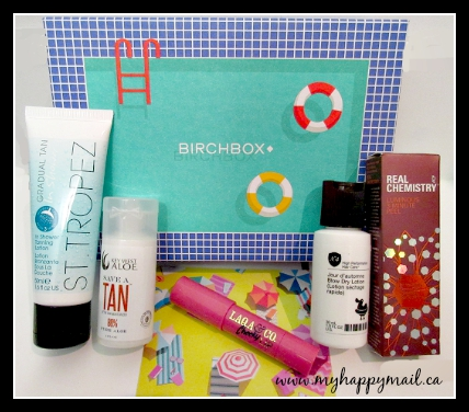 Birchbox Canada August 2015 full box