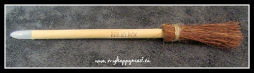 BiblioBox Bookish Subscription Box Review Broom Pen