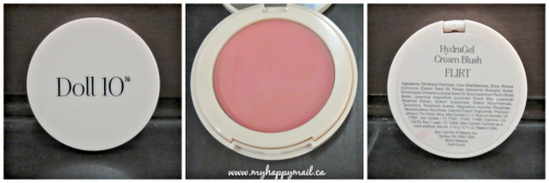 Doll 10 Blush Ipsy August 2015 Glambag Subscription Box Review