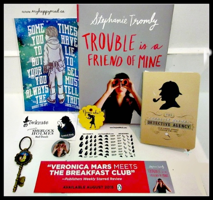 OwlCrate Subscription Box August 2015 Review Mystery Theme Full Box