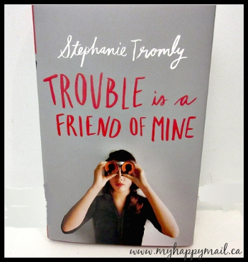 OwlCrate Subscription Box August 2015 Review Mystery Theme - Trouble is a friend of mine