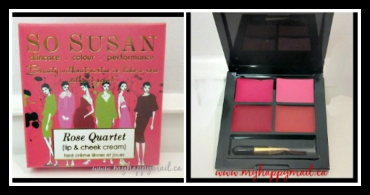 Luxe Box Beauty Subscription Box So Susan Rose Quartet Lip and Cheek Cream