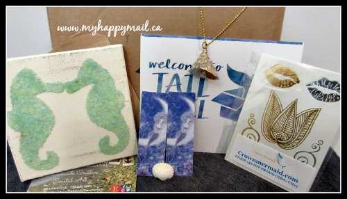 Tail Mail Subscription Box Full Box