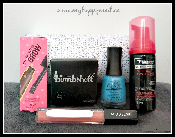 TopBox August 2015 Canadian Subscription Beauty Box