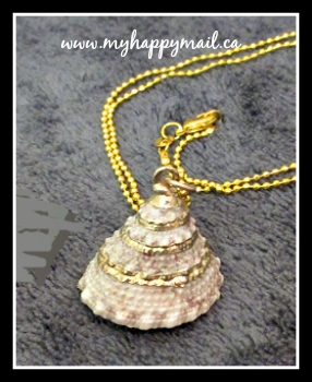 SeaShell Necklace from Tail Mail Subscription Box