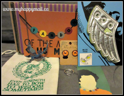 Fandom of the month club Percy jackson theme Full Box