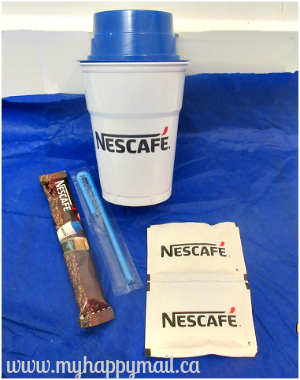 Greekpack Review September Edition 2015 Greek Subscription Box Nescafe Frappe Open
