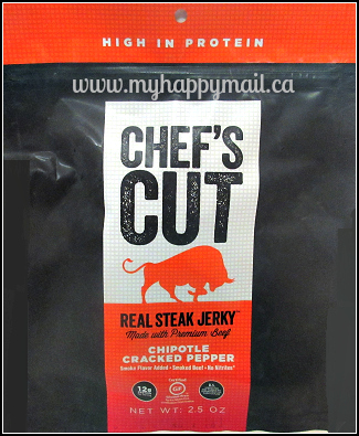 Jerky Snob Review Artisan Jerky Subscription Box Review Chefs Cut Real Steak Jerky Chipotle Cracked Pepper